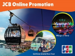 JCB Card Online Promotion for One Faber Group Attractions