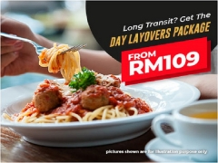 Day Layovers with Room at Tune Hotel KLIA2