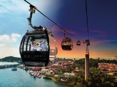 Singapore Cable Car Sky Pass at 15% OFF Tickets with Unionpay