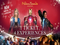 Save 20% in Madame Tussauds Singapore with UnionPay