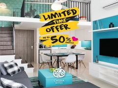 Limited Time Offer with Up to 50% Savings at Cassia Bintan