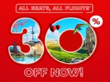 Up to 30% Off All Seats in AirAsia