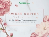 Sweet Suite Valentine Offer with Compass Hospitality this February