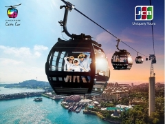 15% Off Singapore Cable Car Sky Pass with JCB Singapore