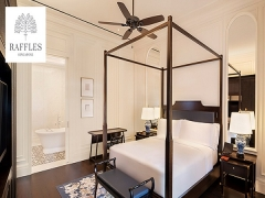 Up to 25% OFF Staycation at Raffles Hotel Singapore with NTUC Card