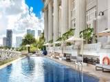 Premier Courtyard Room at SGD320 at The Fullerton Hotel Singapore with HSBC