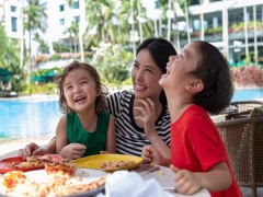 Summer Family Getaway at Shangri-La Hotel, Singapore