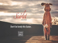 Easter: Don't be a Lonely Bunny at The Scarlet Singapore