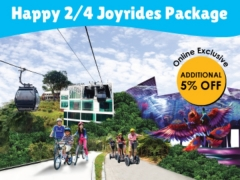 Up to 50% Happy 2/4 Joyrides Package
