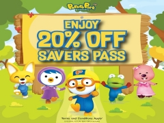 20% Off Pororo Park Singapore Saver Pass