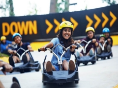 Save 10% on all Skyline Luge Sentosa Individual and Family Combo packages when you pay with a valid Visa® card