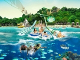 Mastercard® Exclusive: Adventure Cove Waterpark Adult Dated One-Day Ticket + Free SGD5 Meal Voucher + Magnets Set at SGD38