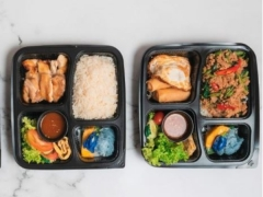 All-Day Thai Bento Box with Blue Jasmine at Park Hotel Farrer Park