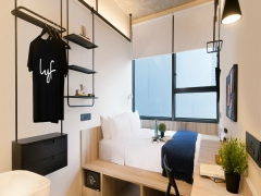 Extended Stay Accommodation in Singapore at lyf Funan