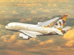 Etihad Airways Singapore to Manchester