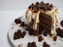 Bubble Tea Lava Cake at Shangri-La Hotels and Resorts