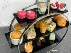 Best of Both Worlds Afternoon Tea with Chef Audra at The Fullerton Hotel Singapore