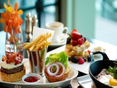 E-voucher: La Brasserie by the bay at The Fullerton Hotel Singaporea