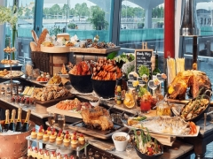E-voucher: Cheers to Sunday Brunch at The Fullerton Hotel Singapore