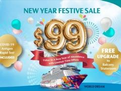 2N/3N Getaway Cruise New Year Festive Sale