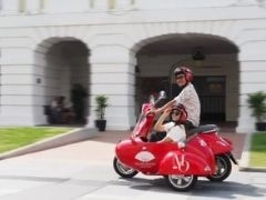 Relax and Ride at Mandarin Oriental Singapore