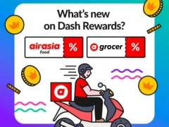 Up to $5 OFF airasia food and grocery deliveries
