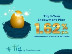 New way to save: Tiq 3-Year Endowment Plan