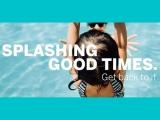 Splashing Good Times. Get back to it.