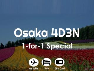 Osaka 1-for-1