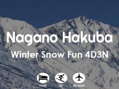 Nagano Hakuba Winter Snow Fun