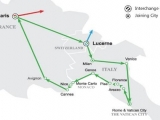 7 Days Green Sapphire Route - Western II Europe (EU7GRN-ST)