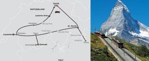 SCENIC SWITZERLAND BY TRAIN 2019 - 9 days ZURICH to ZURICH