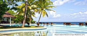 4D3N Romance in Maldives (2018-2019) - Royal Island Resort & Spa Maldives (5*)