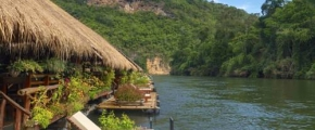 5D4N River Kwai Jungle Rafts Floating House Experience