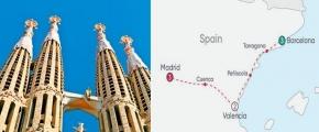 SPANISH CITY EXPLORER 2019 (9 Days Barcelona to Madrid)