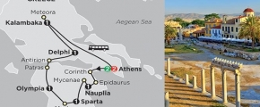 THE BEST OF GREECE 2019 - 10 days ATHENS to ATHENS