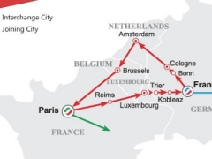 7 Days Red Ruby Sapphire Route - Western Europe (EU7RED-ST)
