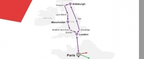 7 Days Purple Sapphire Route - Great Britain (EU7PUR-ST)