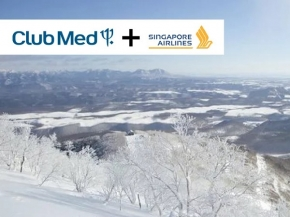 Winter Club Med to Hokkaido by Singapore Airlines