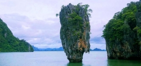 3D 2N PHUKET 2+1 Super Package > 5 in 1 Canoe in Phang-Nga Bay by Luxury Boat