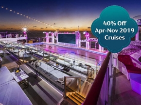 Dream Cruises: 3N PENANG / LANGKAWI Cruise or  3N PENANG / PHUKET Cruise or 3N PHUKET Cruise (40% Off All Pax Promotion)