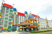 2D Legoland Hotel with 1 Day Legoland Theme Park + Water Park