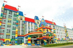 2D Legoland Hotel with 1 Day Legoland Theme Park & Sealife + 1 Day Waterpark