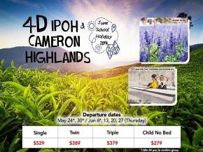 4D3N Ipoh Cameron Highlands