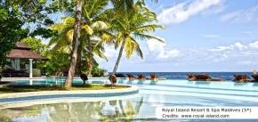 4D3N Romance in Maldives (2019) - Royal Island Resort & Spa Maldives (5*)