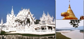 5D Chiangmai / Chiangrai + 3D Museum + Hidden Village (GH5)