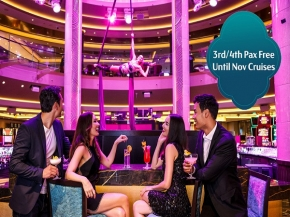 Dream Cruises: 5N SURABAYA / NORTH BALI Cruise or 5N PENANG / PHUKET / LANGKAWI / PORT KLANG Cruise or 5N NHA TRANG / HO CHI MINH Cruise or 5N REDANG / SIHANOUKVILLE / BANGKOK Cruise (3rd/4th Cruise FREE)