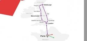 7 Days Purple Sapphire Route - Great Britain (EU7PUR-ST)