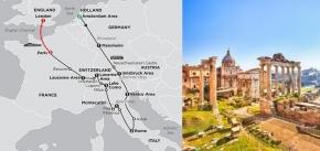 EUROPE'S HIGHLIGHTS 2019 - 14 days AMSTERDAM to PARIS