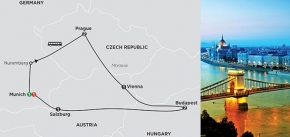 PRAGUE, VIENNA & BUDAPEST 2019 - 9 days MUNICH to MUNICH